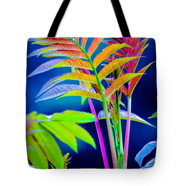 Leaves Of Eve 3 Tote Bag