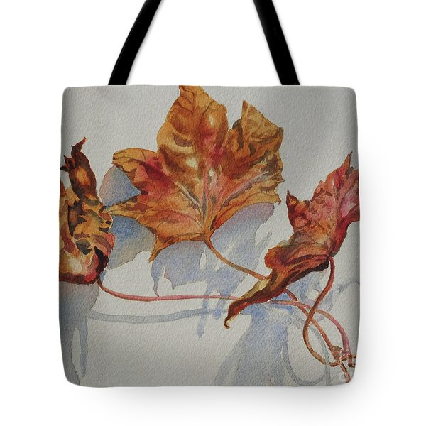 Leaves Of Fall Tote Bag
