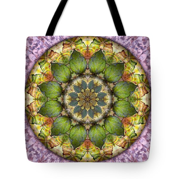 Leaves Of Glass Tote Bag