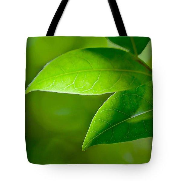 Leaves Of Green Tote Bag