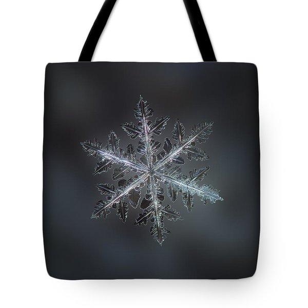 Leaves Of Ice II Tote Bag by Alexey Kljatov