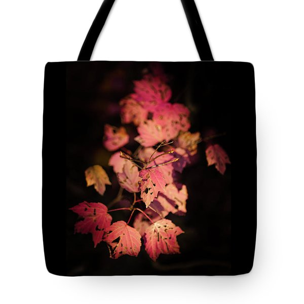 Leaves Of Surrender Tote Bag by Karen Wiles