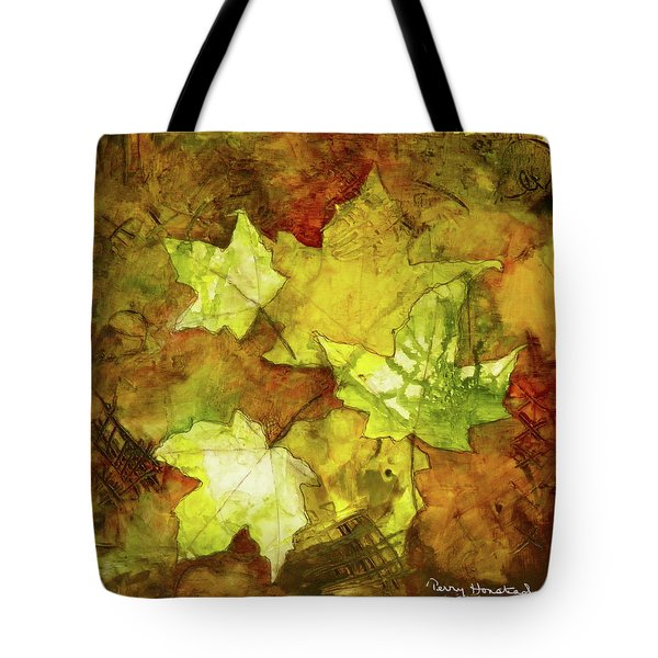 Leaves Tote Bag by Terry Honstead
