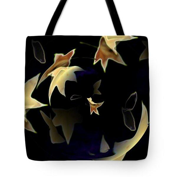 Leaves Tote Bag by Tim Allen