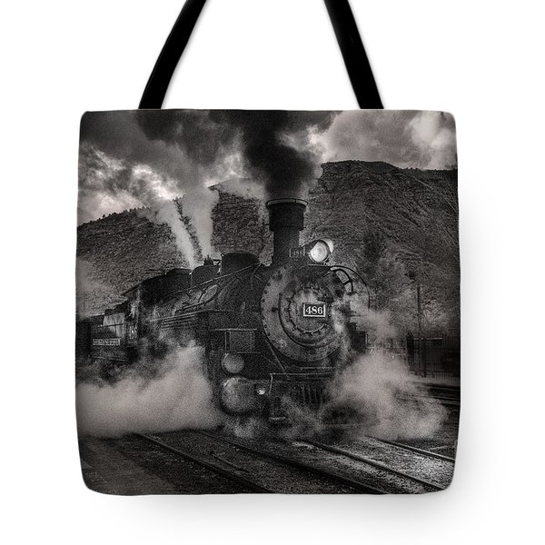 Leaving Durango For Silverton Tote Bag