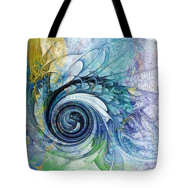 Leaving It All Behind Tote Bag by Amanda Moore
