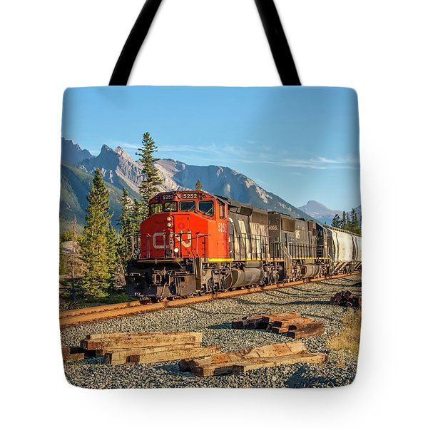 Leaving Jasper 2009 02 Tote Bag