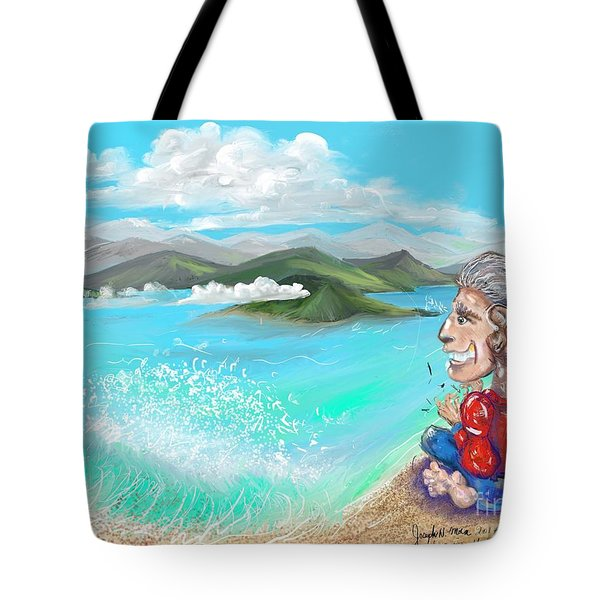 Leaving The Dream Tote Bag