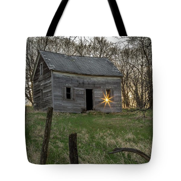 Leaving The Light On Tote Bag