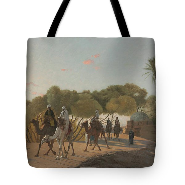 Leaving The Oasis Tote Bag