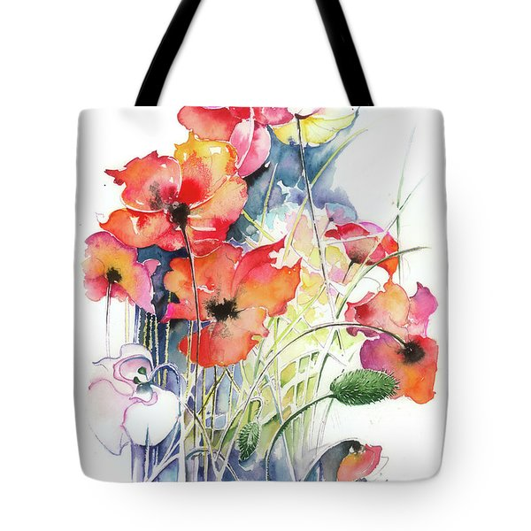 Leaving The Shadow Tote Bag by Anna Ewa Miarczynska