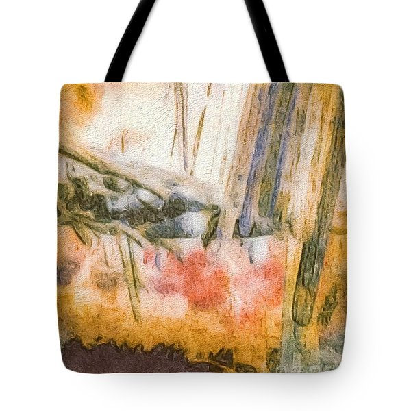 Leaving The Woods Tote Bag