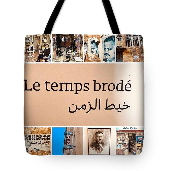 Lebanon Time Tote Bag