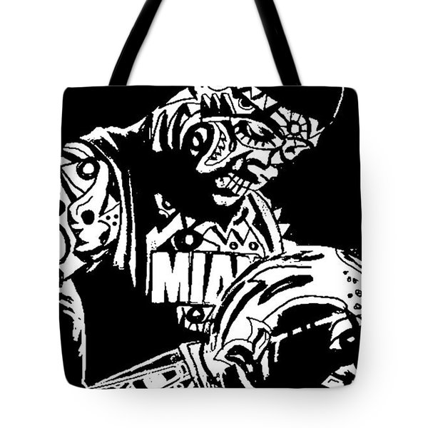 Lebron James Tote Bag by Kamoni Khem