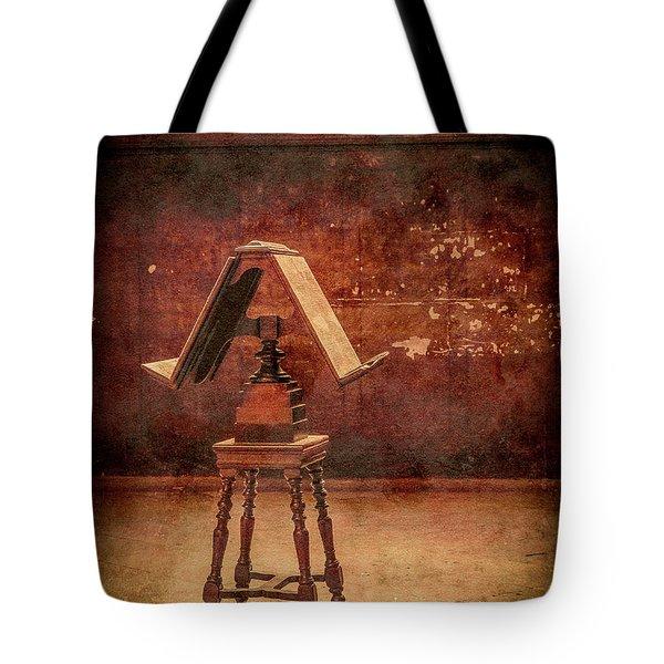 Paris, France - Lectern Tote Bag