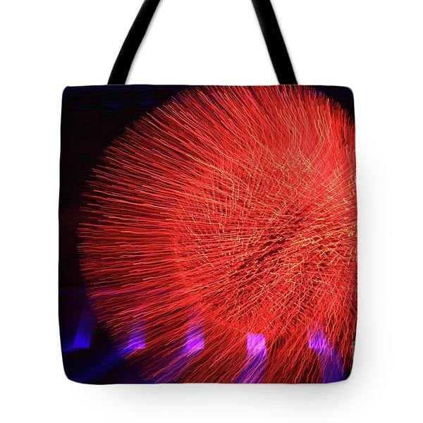 Led Lights Tote Bag