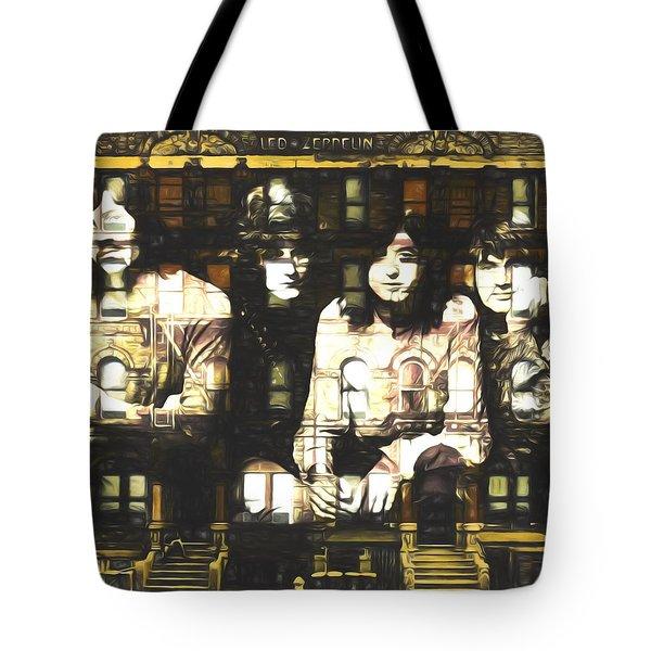 Led Zeppelin Physical Graffiti Tote Bag