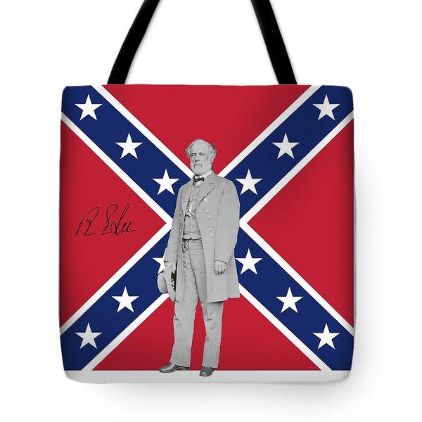 Lee Battleflag Tote Bag