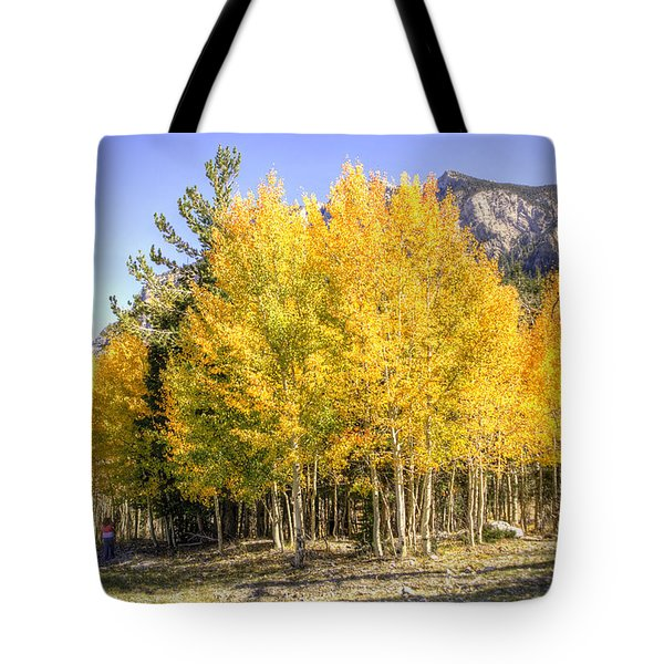 Lee Canyon Aspen Tote Bag