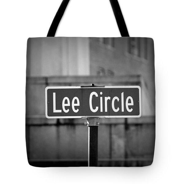 Lee Circle Tote Bag