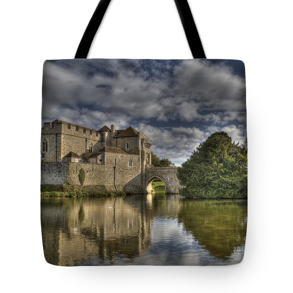 Leeds Castle Reflections Tote Bag