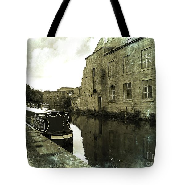 Leeds Liverpool Canal Unchanged For 200 Years Tote Bag