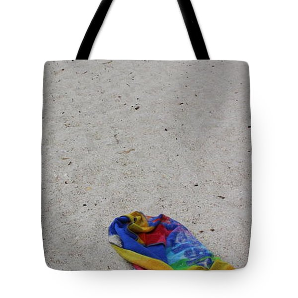 Left Behind Tote Bag by Ed Smith