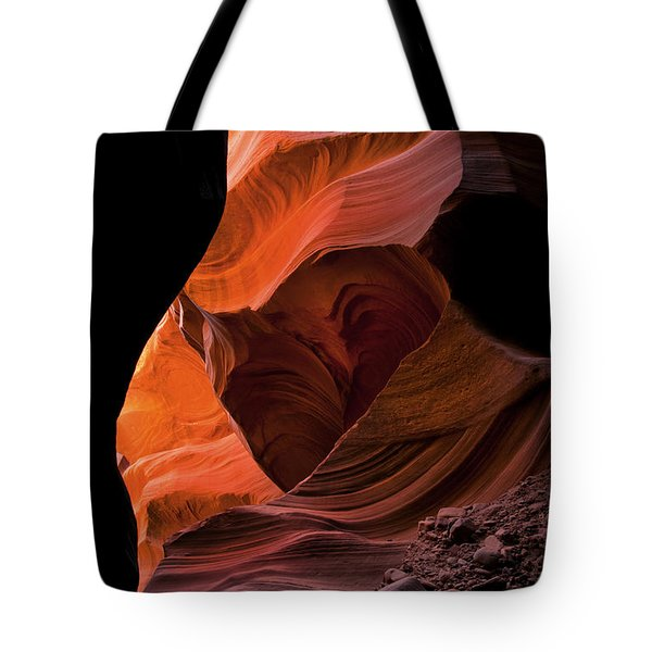 Left By Floodwaters Tote Bag by Mike  Dawson