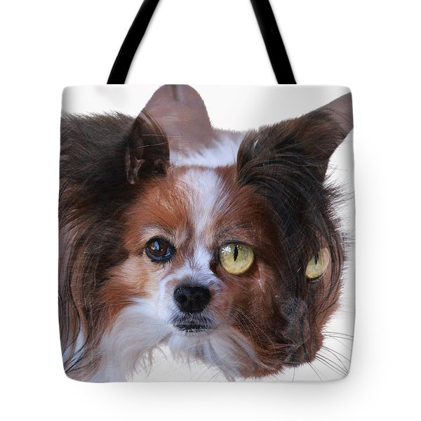 Left Eye Tote Bag