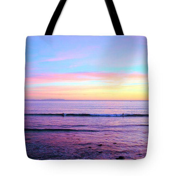 Left Right Sunset Tote Bag