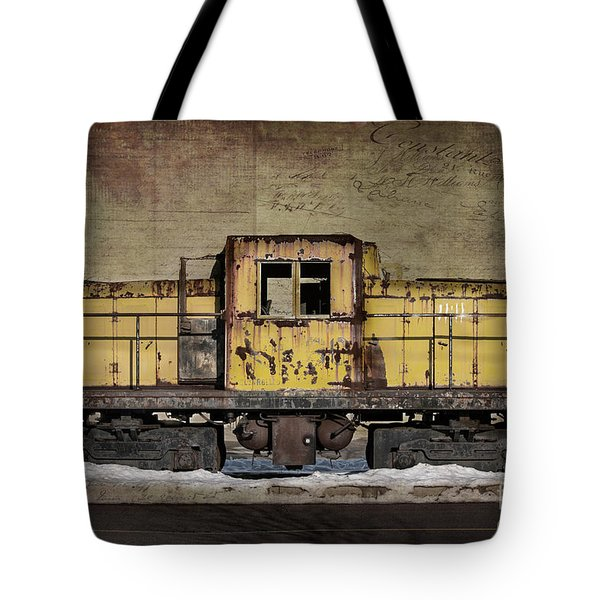 Left To Rust Tote Bag by Judy Wolinsky