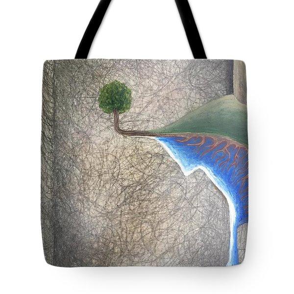 Left Universe Tote Bag