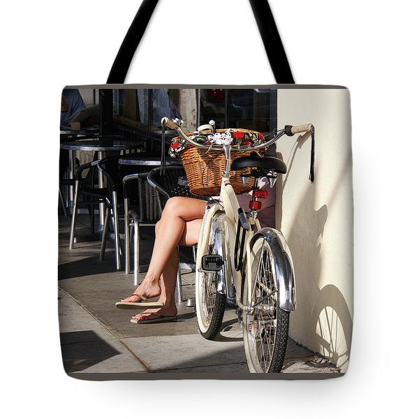 Leg Power - On Montana Avenue Tote Bag