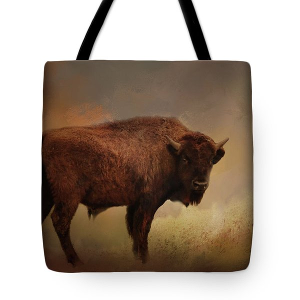 Legend Of Buffalo Spirit Tote Bag