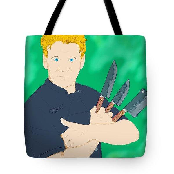 Legendary Chef Tote Bag