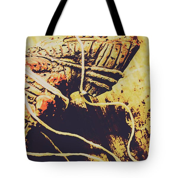 Legends Of A Fall Tote Bag