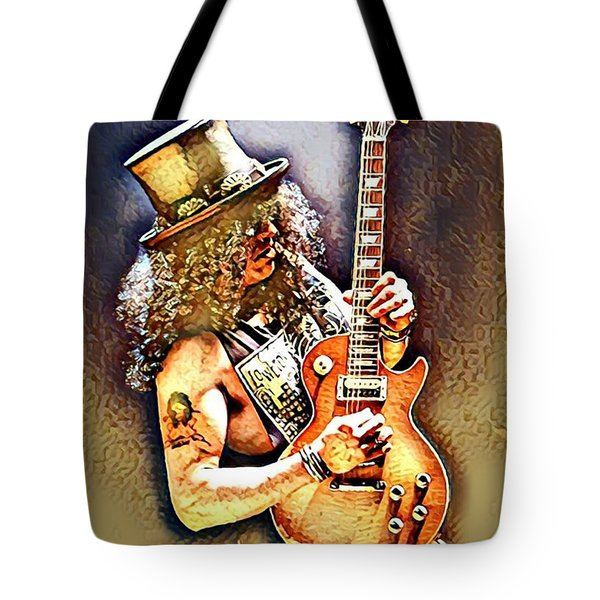 Legends Of Rock - Slash - Sweet Child Tote Bag