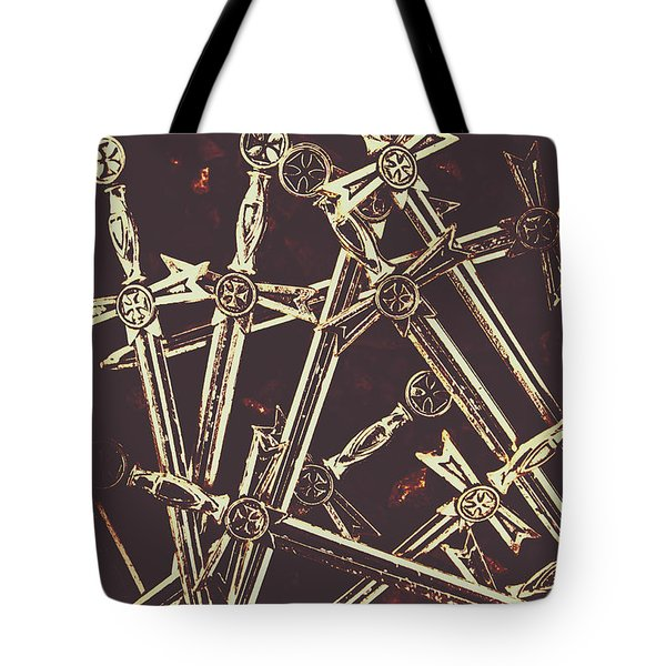 Legion Of Arms Tote Bag