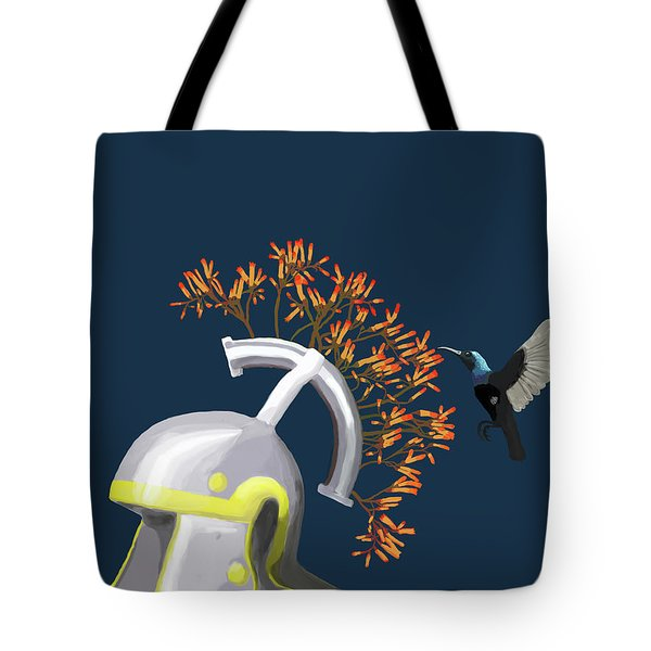 Legions Helmet Tote Bag by Keshava Shukla