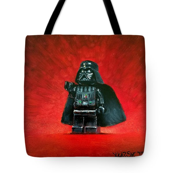 Lego Vader Tote Bag