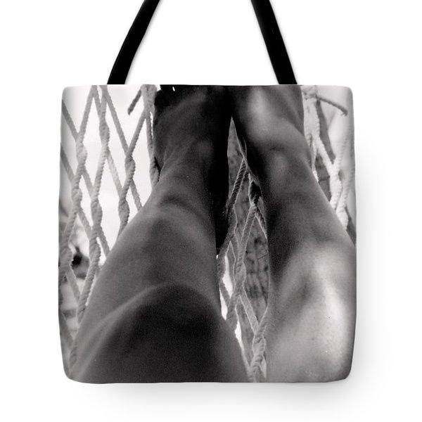 Legs Tote Bag by Deborah  Crew-Johnson