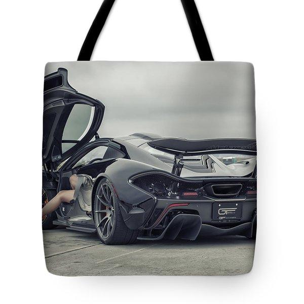 #mclaren #mso #p1 #wheels And #heels Tote Bag