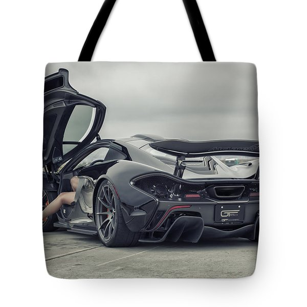 #mclaren #mso #p1 #wheels And #heels Tote Bag