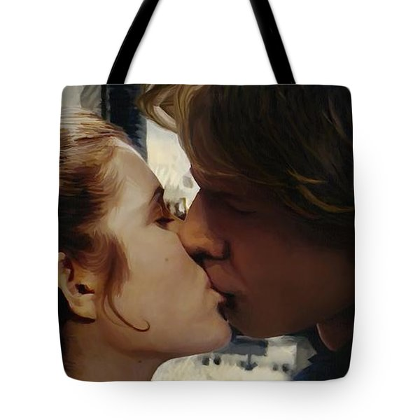 Leia And Han Tote Bag by Mitch Boyce