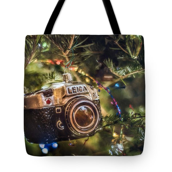 Leica Christmas Tote Bag