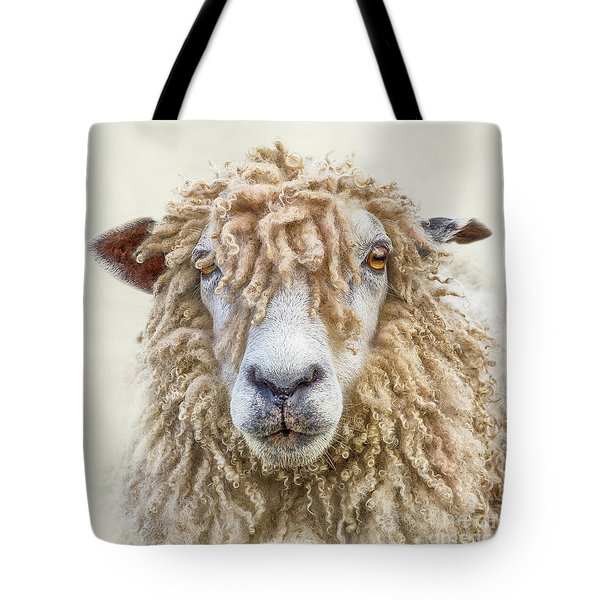Leicester Longwool Sheep Tote Bag by Linsey Williams
