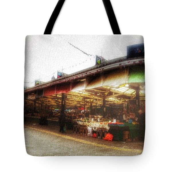 Tote Bag featuring the photograph Leicester Market by Isabella F Abbie Shores FRSA