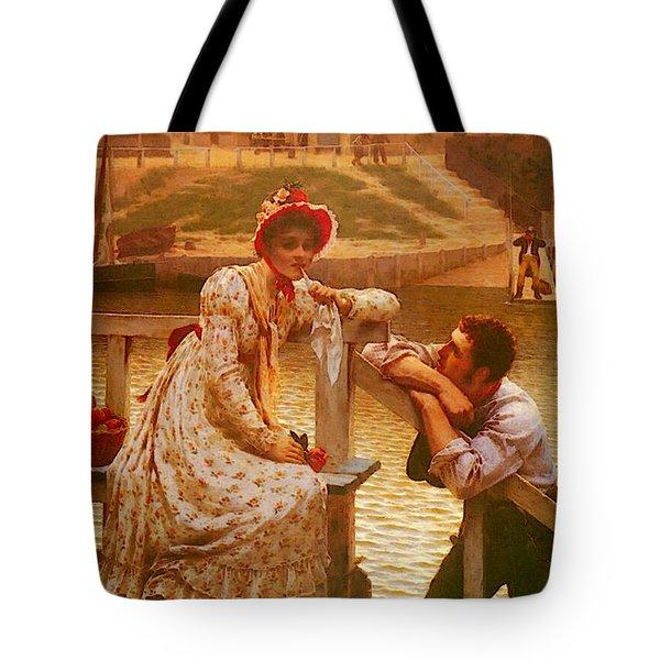 Leighton Edmund Blair Courtship Tote Bag