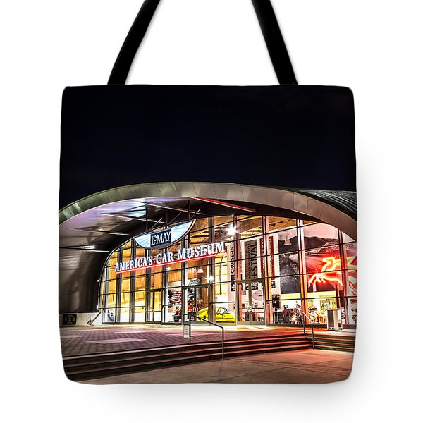 Lemay Car Museum - Night 1 Tote Bag