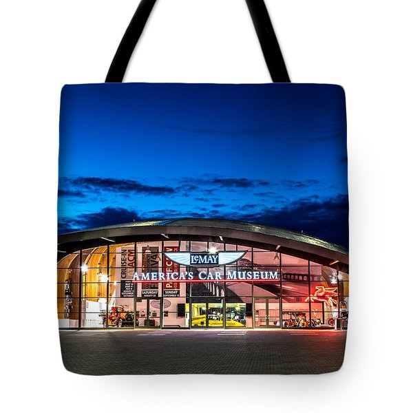 Lemay Car Museum - Night 2 Tote Bag